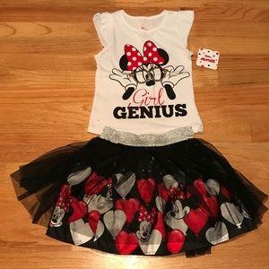 Minnie Mouse 2 pc set